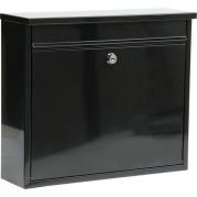 Schránka poštová čierna 310 x 360 x 100 mm  (YT-78575)