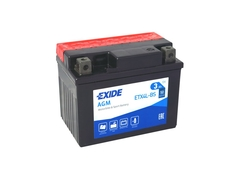 Motobatéria EXIDE BIKE Maintenance Free 3Ah, 12V, YTX4L-BS (E5006)