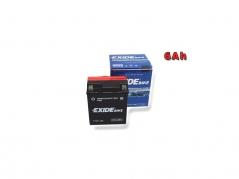 Motobatéria EXIDE BIKE Maintenance Free 6Ah, 12V, YTX7L-BS (E5008)