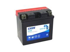 Motobatéria EXIDE BIKE Maintenance Free 6Ah, 12V, YTZ7-BS (E5010)