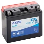 Motobatéria EXIDE BIKE Maintenance Free 10Ah, 12V, YT12B-BS (E5004)