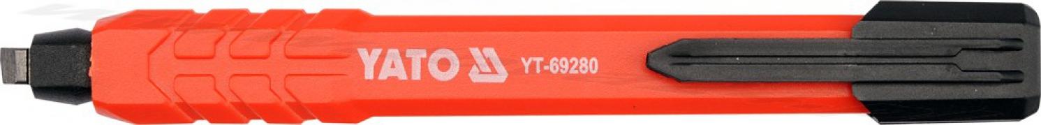 Automatická tesárska ceruzka  HB (YT-69280)