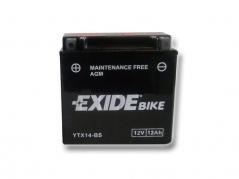 Motobatéria EXIDE BIKE Maintenance Free 12Ah, 12V, YTX14-BS (E5018)