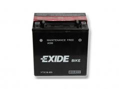 Motobatéria EXIDE BIKE Maintenance Free 14Ah, 12V, YTX16-BS (E5022)