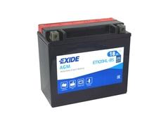 Motobatéria EXIDE BIKE Maintenance Free 18Ah, 12V, YTX20L-BS (E5614)