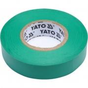 Páska izolační 15mm x 20m x 0,13mm zelená (YT-81595)