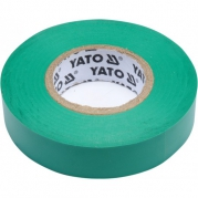 Páska izolační 19mm x 20m x 0,13mm zelená (YT-81652)