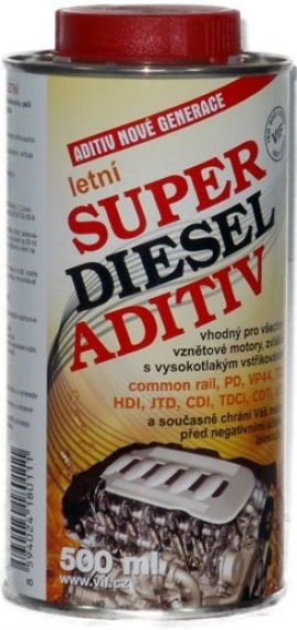 VIF Super Diesel Aditív letný, 500ml (001240)