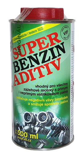 VIF Super Benzin Aditív, 500ml