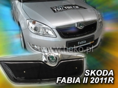 Zimná clona ŠKODA FABIA II od r. 7/2010 Horná (02048)