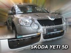 Zimná clona ŠKODA YETI 2009r.-->2013r. Dolná (02051)