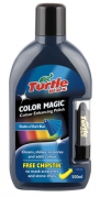 Turtle Wax Color Magic Plus - Farebná politúra s rúžom 500 ml tmavomodrý (001540)