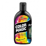 Turtle Wax Color Magic Plus - Farebná politúra s rúžom 500 ml čierny (001541)