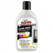 Turtle Wax Color Magic Plus - Farebná politúra s rúžom 500 ml biely (001542)