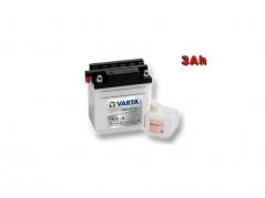 Motobatéria VARTA YB3L-A, 3Ah, 12V (E4188)