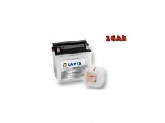 Motobatéria VARTA YB16B-A, 16Ah, 12V (E4224)