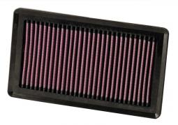 K&N filter do originálneho boxu pre Nissan Micra, Livina, Note, Qashqai, Versa, Tiida, Cube, NV200, Evalia (33-2375)