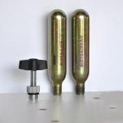Náplne (bombičky) CO2 pre Motoairbag 2ks (D4218)
