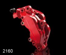 Sada na brzdové prasiatka Foliatec - Rosso Červená (2160)