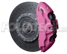 Sada na brzdové prasiatka Foliatec - Ružová Metalíza (2169)