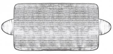 Clona tepelná ALU zimná/letná 175x90cm (AM-3870)
