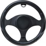 Poťah volantu 37-39 CM čierna/chrom (AM-5034)