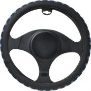 Poťah volantu 35-37 CM modrý S (AM-5869)