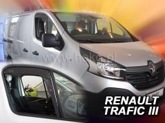 Deflektory na Renault Trafic, 2-dverová, r.v.: 2014 - (27189)