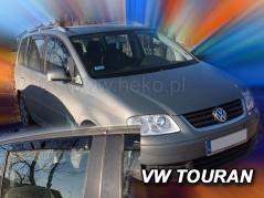 Deflektory na Volkswagen Touran, 5-dverová (+zadné), r.v.: 2003 - 2015 (31143)