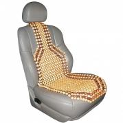 """Poťah na sedadlo z drevených korálikov """"BAOBAB"""" (P303005)"""