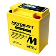 Motobatéria MOTOBATT MBTX7U, 8Ah, 12V (YTX7L-BS)