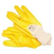 Pracovné rukavice pogumované veľ. 9, bavlna/nitril (YT-74085)