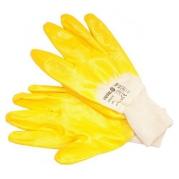 Pracovné rukavice pogumované veľ. 10, bavlna/nitril (YT-74086)
