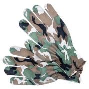 Rukavice záhradnícke veľ.8, camuflage buk (YT-74115)