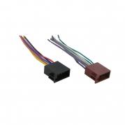 ISO konektor pre autorádiá, samec, voľné konce RISO-128 UNI (TSS-RISO-128 UNI)