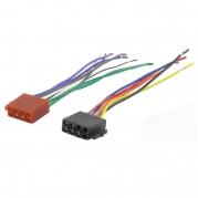 ISO konektor pre autorádiá, samica, voľné konce RISO-056 UNI (TSS-RISO-056 UNI)