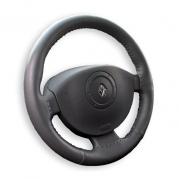 Kožený poťah volantu Mária Cavallo čierny (30183)