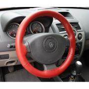 Kožený poťah volantu Mária Cavallo červený (30183-1-1-1-1)