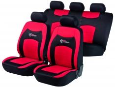 Autopoťahy WALSER RS Racing, červeno čierne (11819)