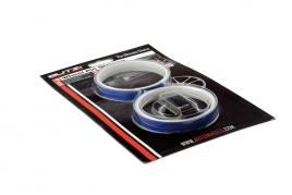 Okrasné pásy na disky modré (BZA56BL)