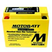 Motobatéria MOTOBATT MBT12B4, 11Ah, 12V (YT12B-BS)