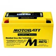 Motobatéria MOTOBATT MB7U, 6,5Ah, 12V (YT7B-BS)