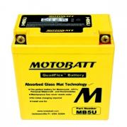 Motobatéria MOTOBATT MB5U, 7Ah, 12V (YB5L-B)