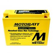 Motobatéria MOTOBATT MB16AU, 20,5Ah, 12V (YB16AL-A2)