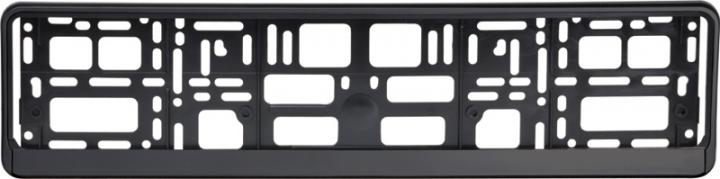Podložka pod ŠPZ osobná - čierna (AM-0824)
