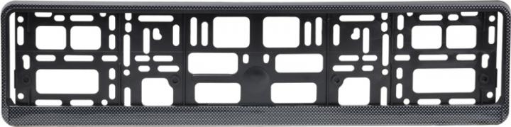 Podložka pod ŠPZ osobná - karbón (AM-0855)