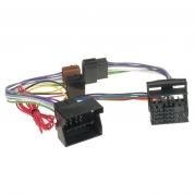 ISO HF adaptér plne osadený, Seat, Škoda, Audi, VW ISO 521 FL (TSS-ISO 521 FL)