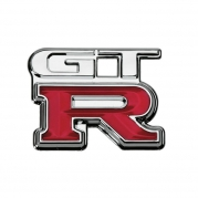"Emblém ""GT-R"", 68 x 54 mm (LOG1626)"