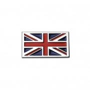 """Emblém """"britská vlajka"""" chróm 70 x 40 mm (LOG1643)"""