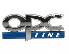 "Emblém ""OPC"" 80 x 30cm chróm (LOG1922)"
